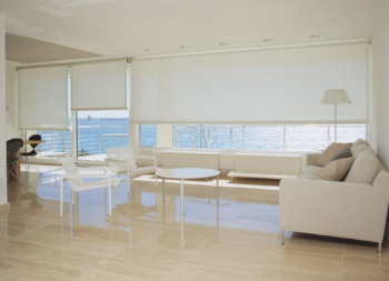 Cortinas enrollables de grandes dimensiones